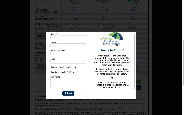 Washington Health Insurance Exchange