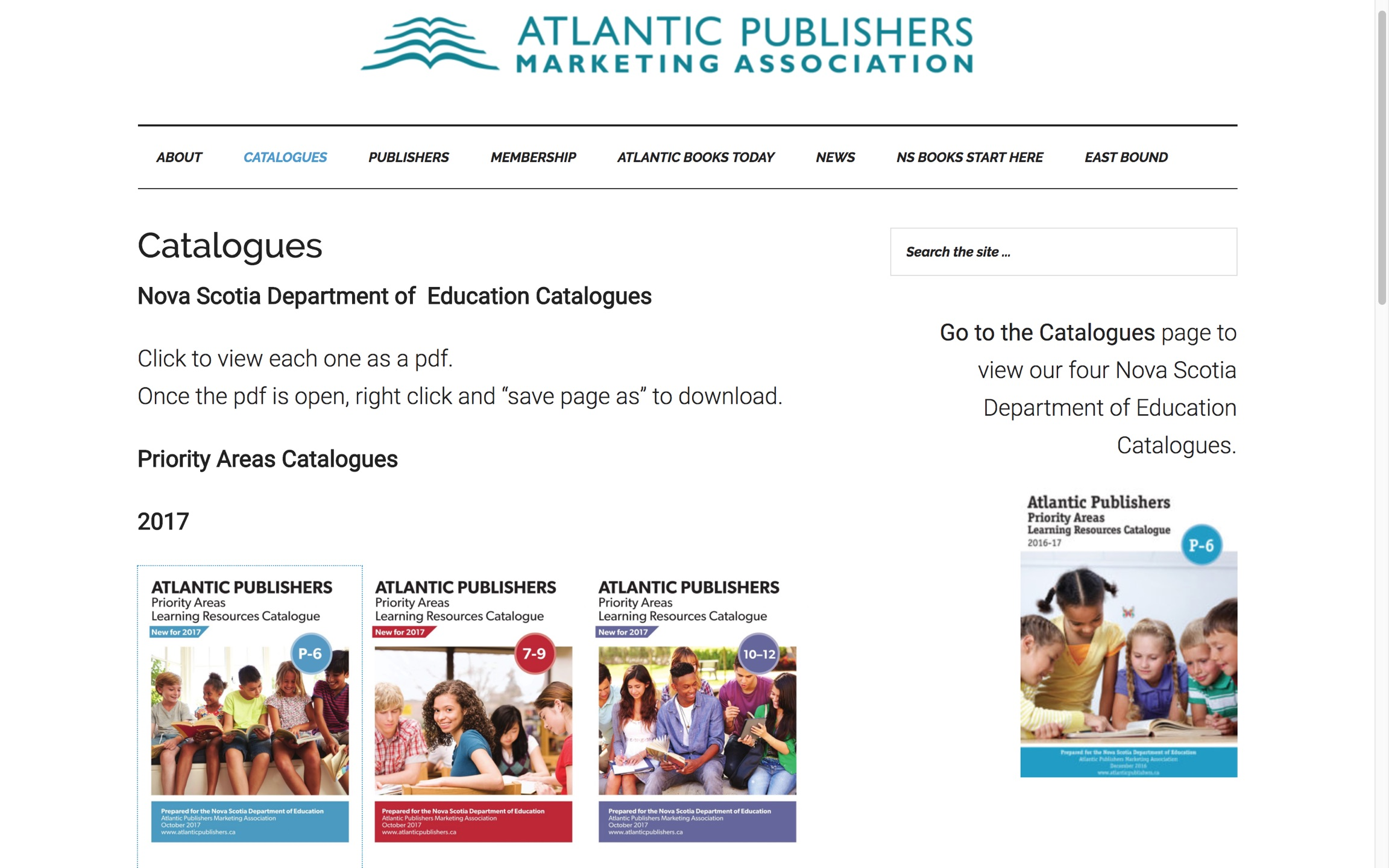 Atlantic Publishers Marketing Association Catalog Generation Application