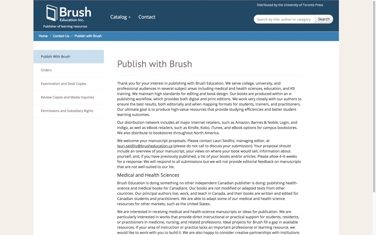 Brush Education